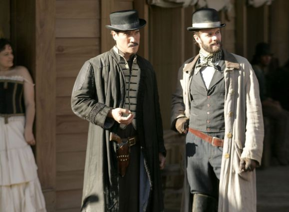 Philip Moon and Garret Dillahunt in Deadwood