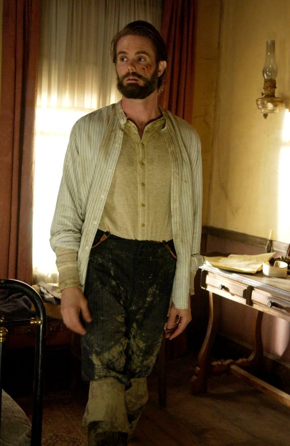 Garret Dillahunt as Francis Wolcott in Deadwood