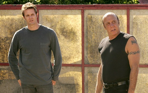 Garret Dillahunt and Dayton Callie in John From Cincinnati