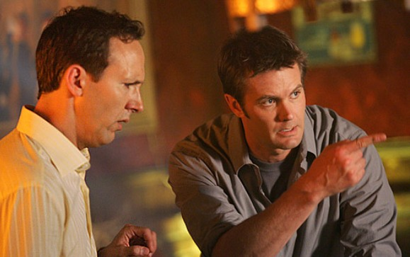 Matt Winston and Garret Dillahunt in John From Cincinnati