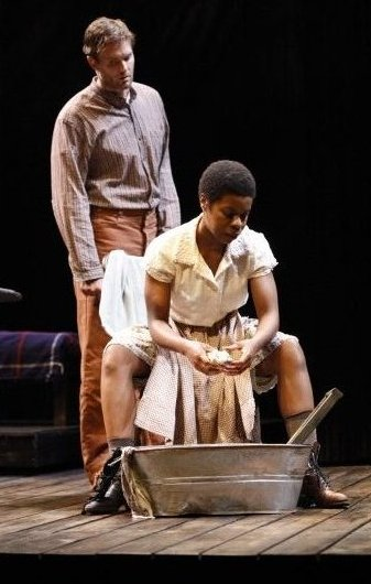 Garret Dillahunt,Roslyn Ruff,Things of Dry Hours,New York Theatre Workshop