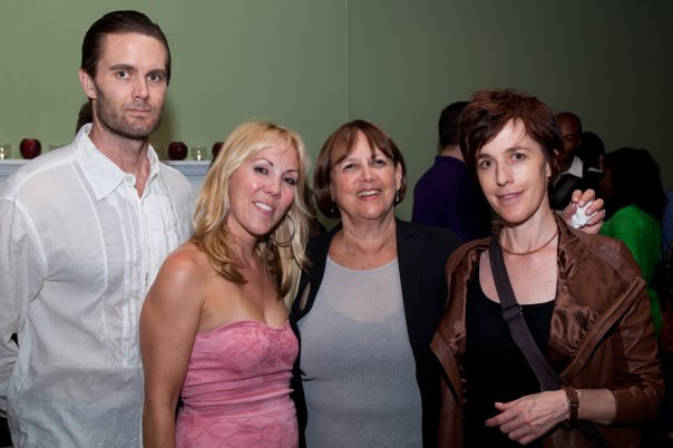Things of Dry Hours opening night - Garret Dillahunt, Heather Randall, Barbara Howard, Naomi Wallace
