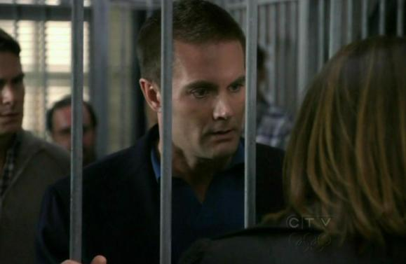 Garret Dillahunt and Mariska Hargitay in Law & Order SVU 11x05 Hardwired