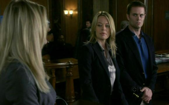 Stephanie March, Jeri Ryan and Garret Dillahunt in Law & Order SVU 11x05 Hardwired