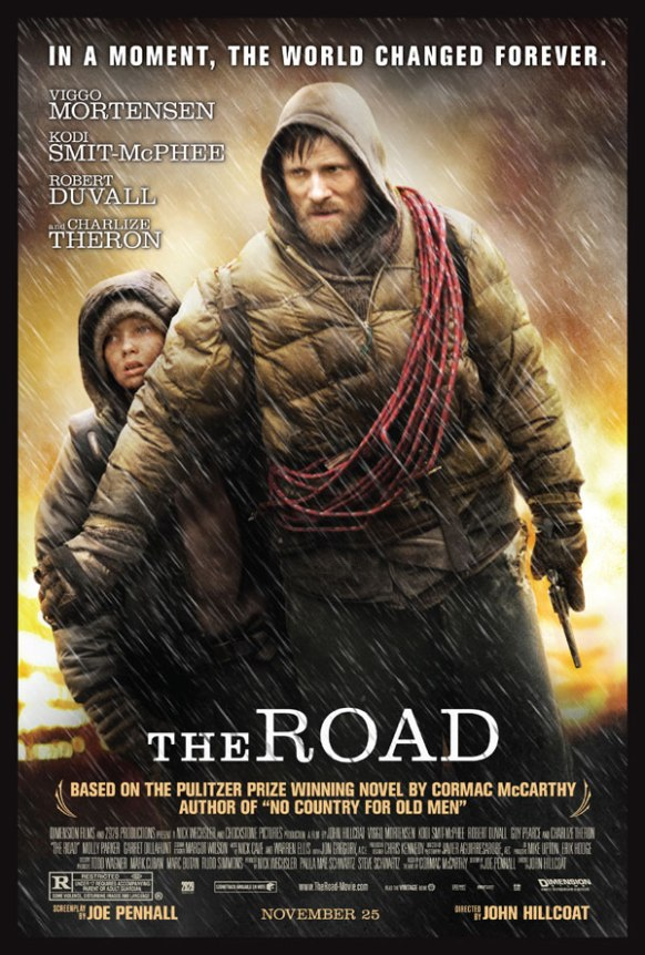 The Road,The Road film,The Road poster,John Hillcoat The Road,Viggo Mortensen,Kodi Smit-McPhee,Garret Dillahunt