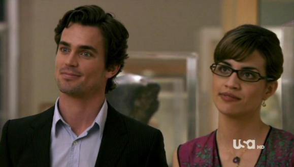 Matt Bomer and Natalie Morales in White Collar
