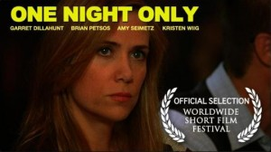 One Night Only,Garret Dillahunt,Kristen Wiig,short film