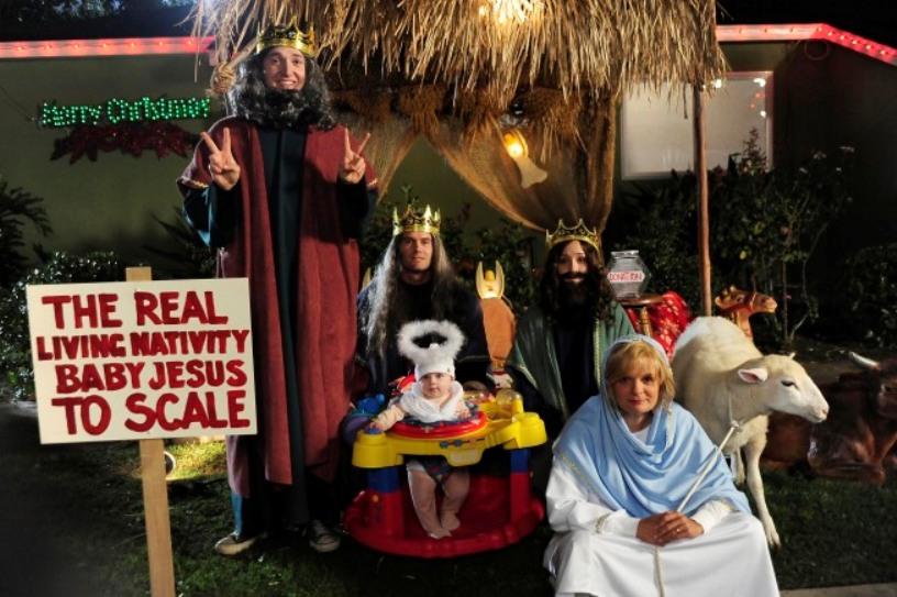 raising hope,christmas episode,garret dillahunt,lucas neff,shannon woodward,martha plimpton