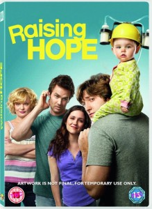 raising hope season one,dvd artwork