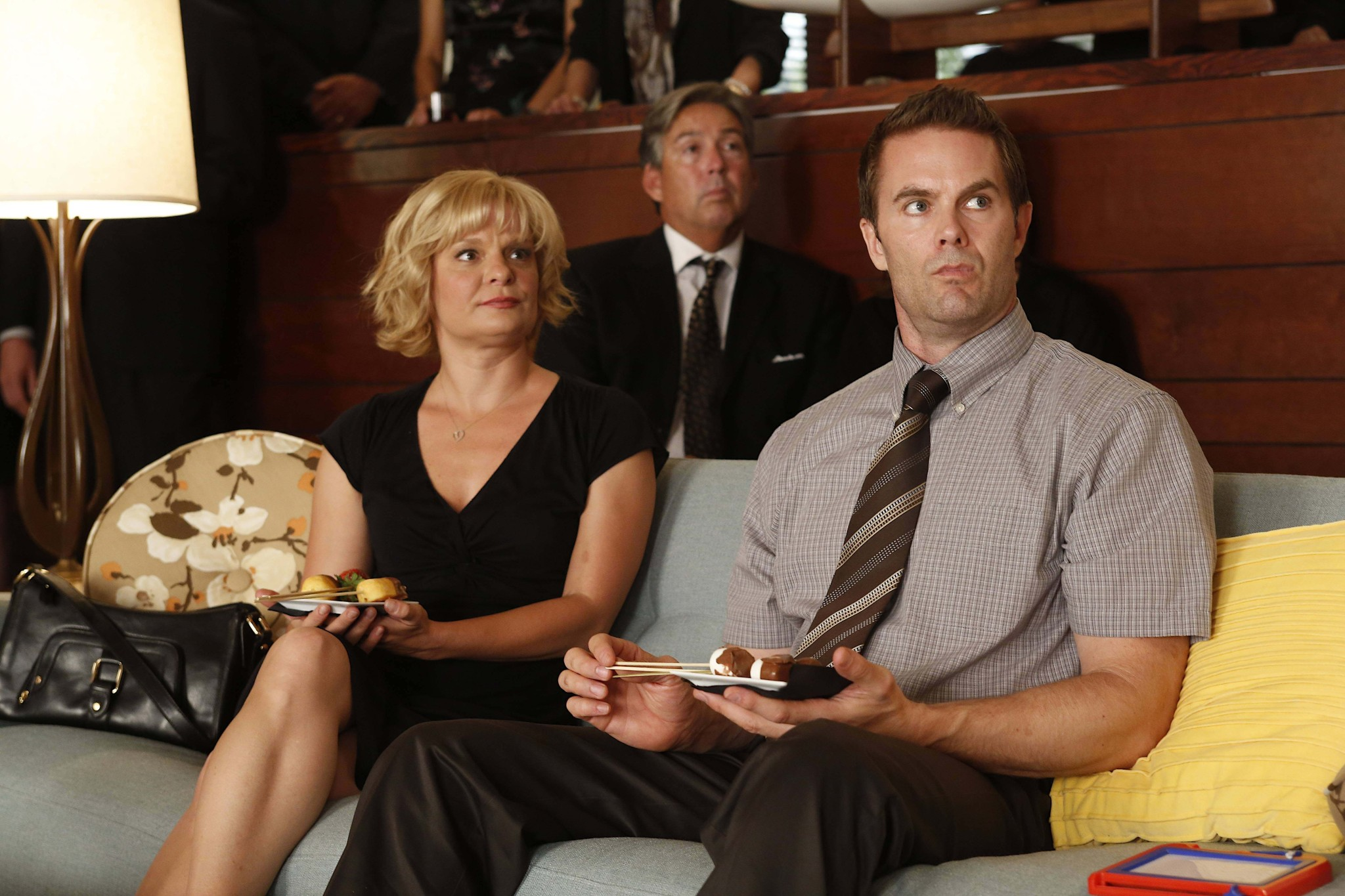Garret Dillahunt And Martha Plimpton