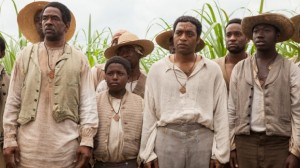 Dwight Henry and Chiwetel Ejiofor in Twelve Years a Slave